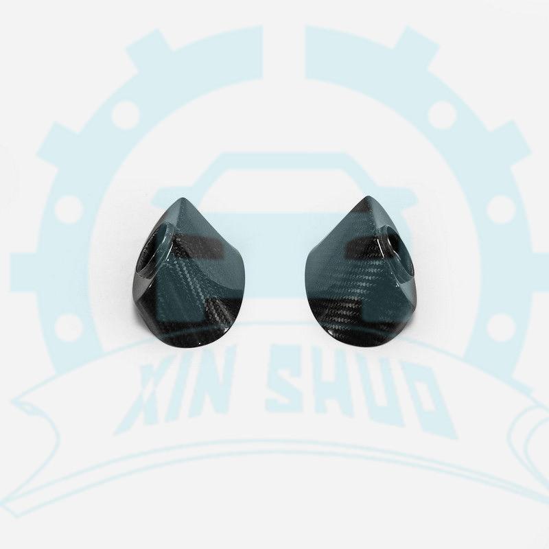 Carbon Fiber Side Mirror Base Stand Fit For Nissan Skyline GTR R35 2009-2015