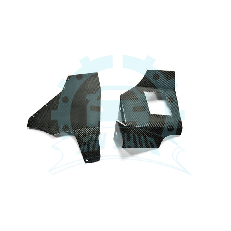 Carbon Rain Blade Cover Fit For 95-02 Nissan S14 S14A S15 Silvia 200SX 240SX