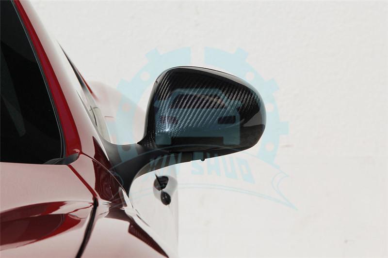 Add On Style Mirror Cover for Maserati Granturismo 08-12 Carbon Fiber Mirror Cap