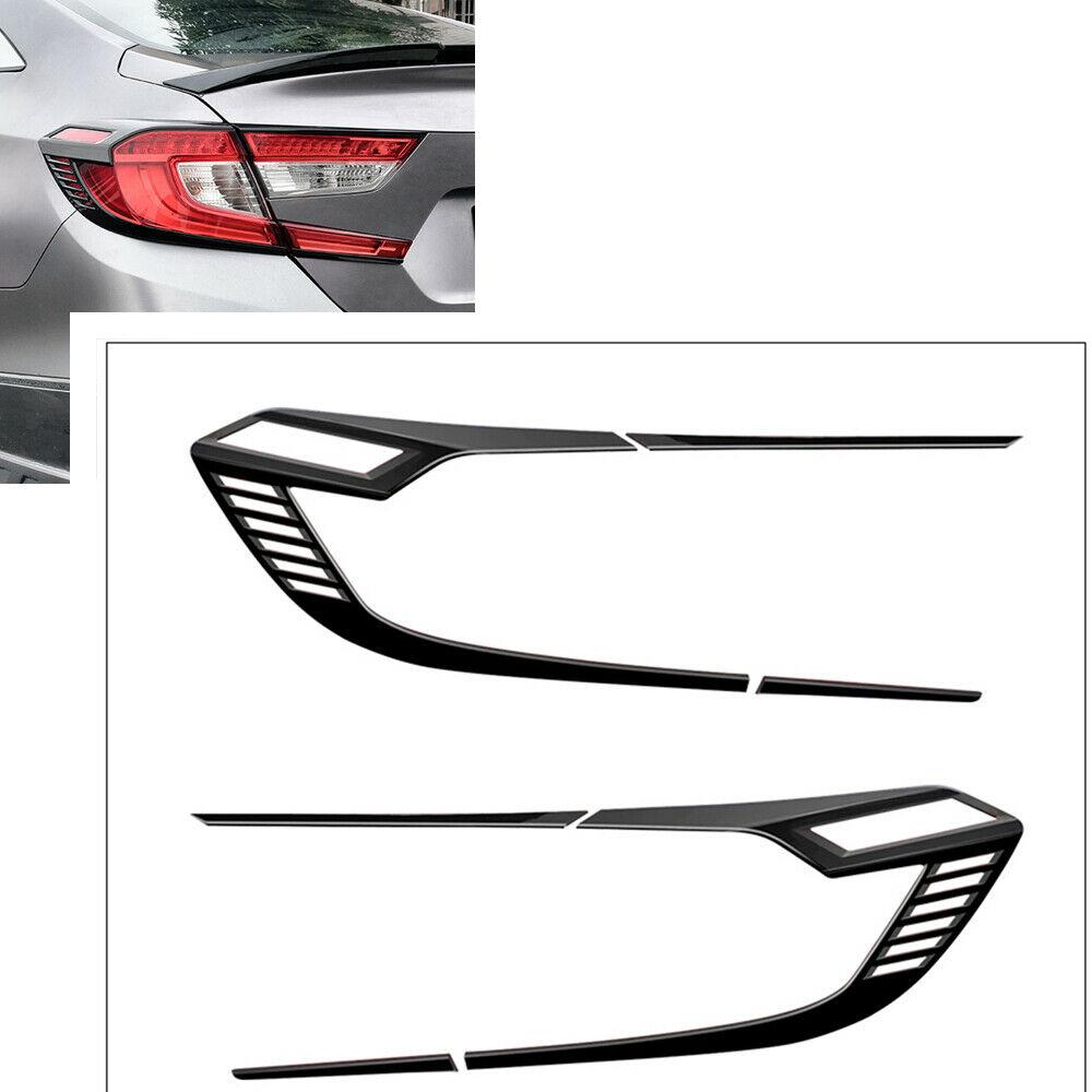 ABS Chrome Rear Tail Light Lamp Cover Trim for 2013 2014 HONDA ACCORD Sedan