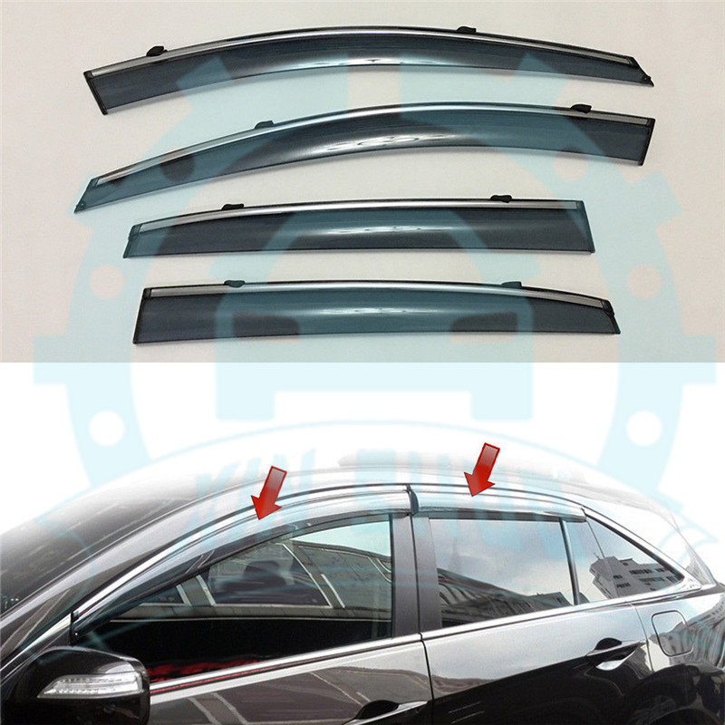 For Acura RDX 2013-2018 Window Sun Rain Visors Vent Shade