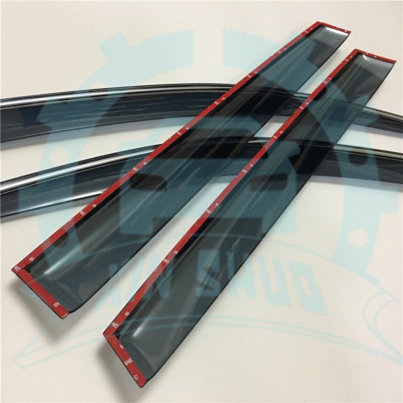 For Acura MDX YD3 2014-2018 Window Sun Rain Visors Vent
