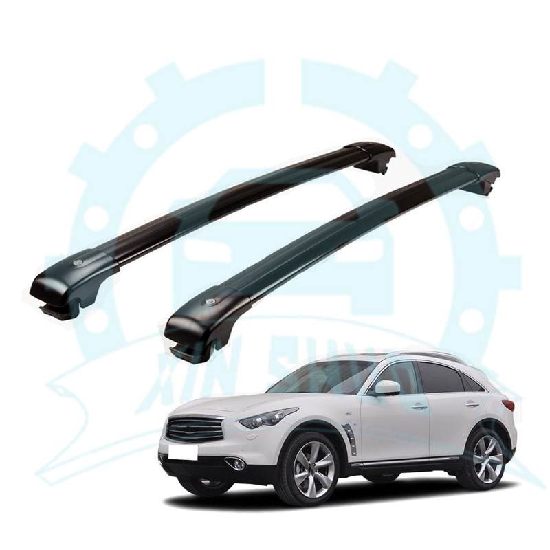 Cross Bar fit for Infiniti QX56 QX80 2011-2017 Crossbar Roof  Rail Rack Baggage