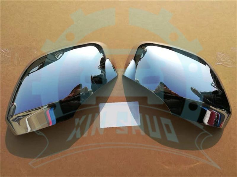 08-15 HONDA ACCORD Chrome Mirror Cover With Turn Signal /& Backup Camera 1x Pair