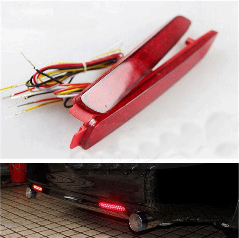Side Marker Light Rear Bumper Fog Lamp For TOYOTA Sienna