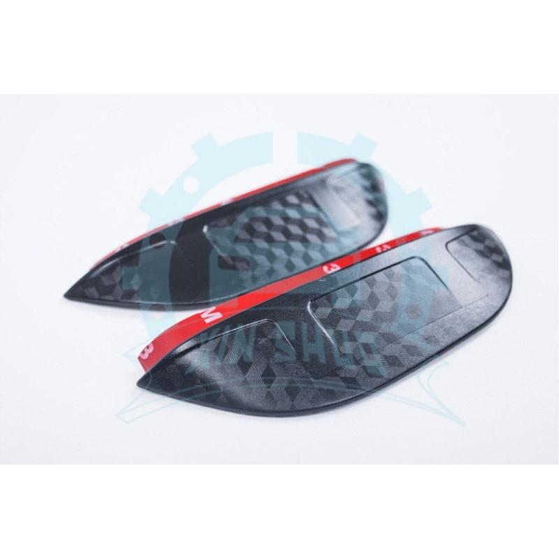 2x Auto Rearview Mirror Visor Shade Rain Decort For Acura